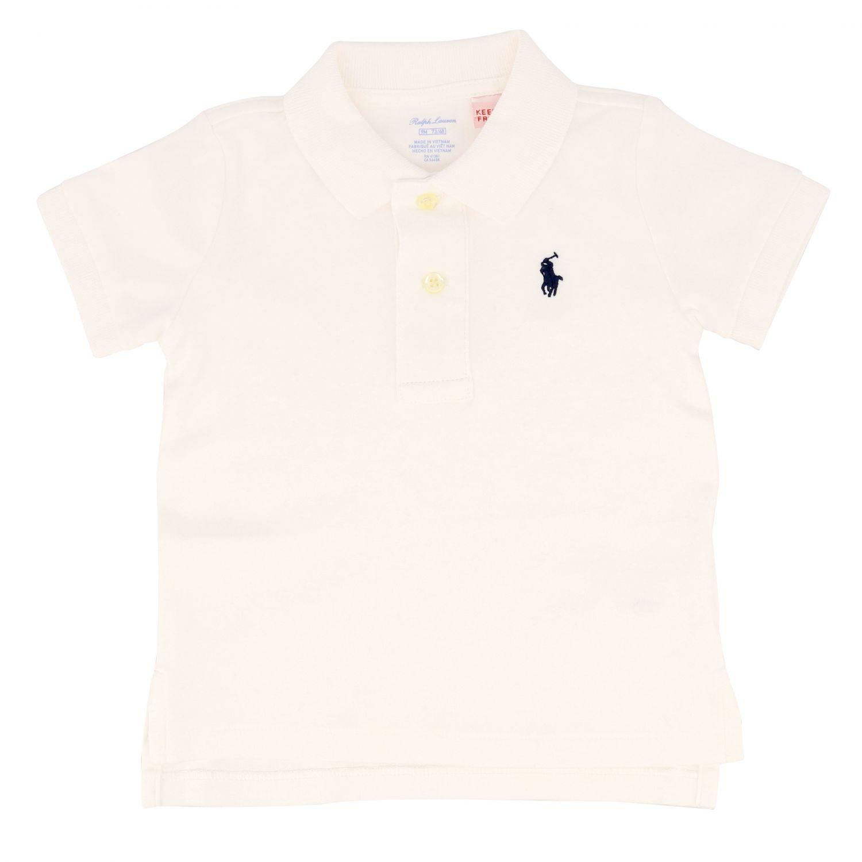 Polo Polo Ralph Lauren Kid basic white 1