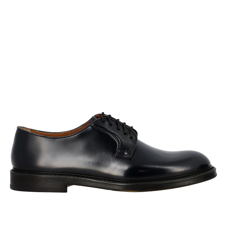 Schnürschuhe Doucal's: Schuhe herren Doucal's schwarz 1