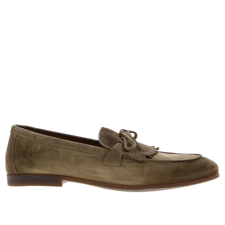 Loafers Doucal's: Shoes men Doucal's black 1