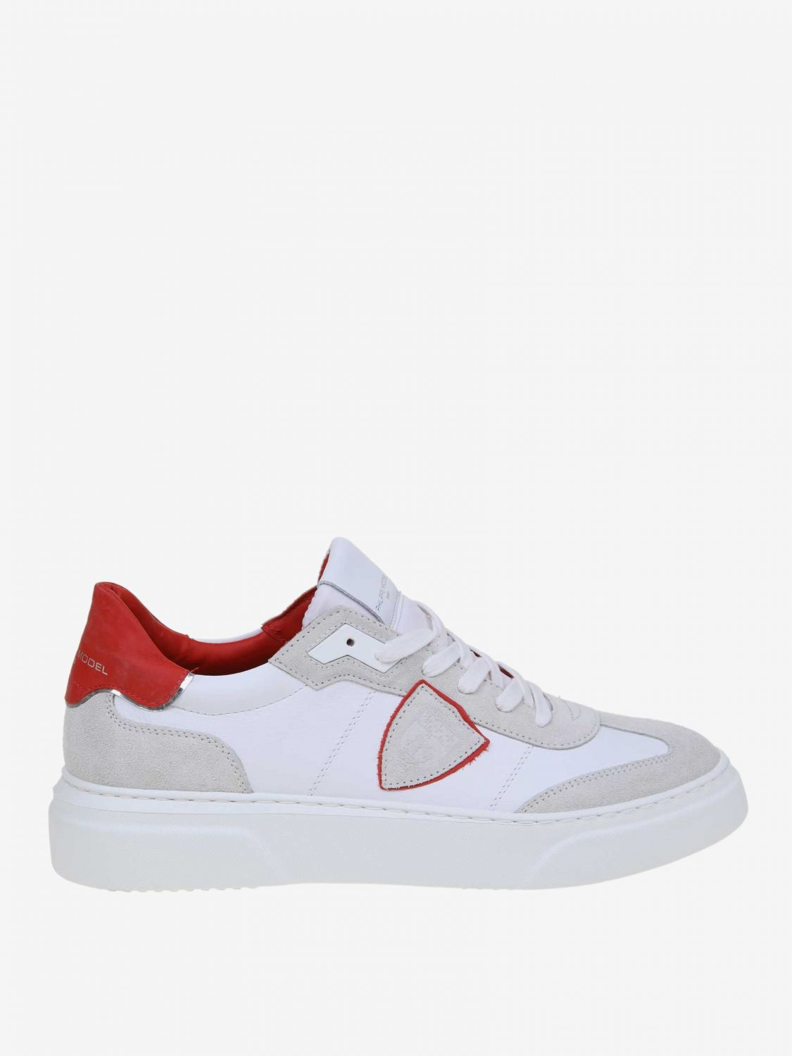 Trainers men Philippe Model red 1