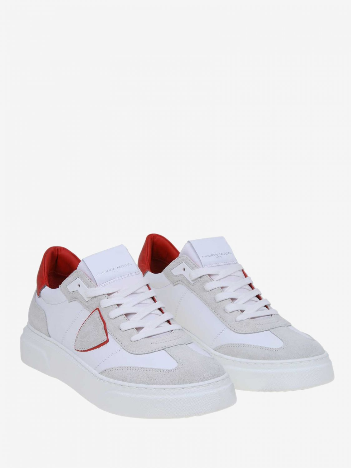 Trainers men Philippe Model red 2
