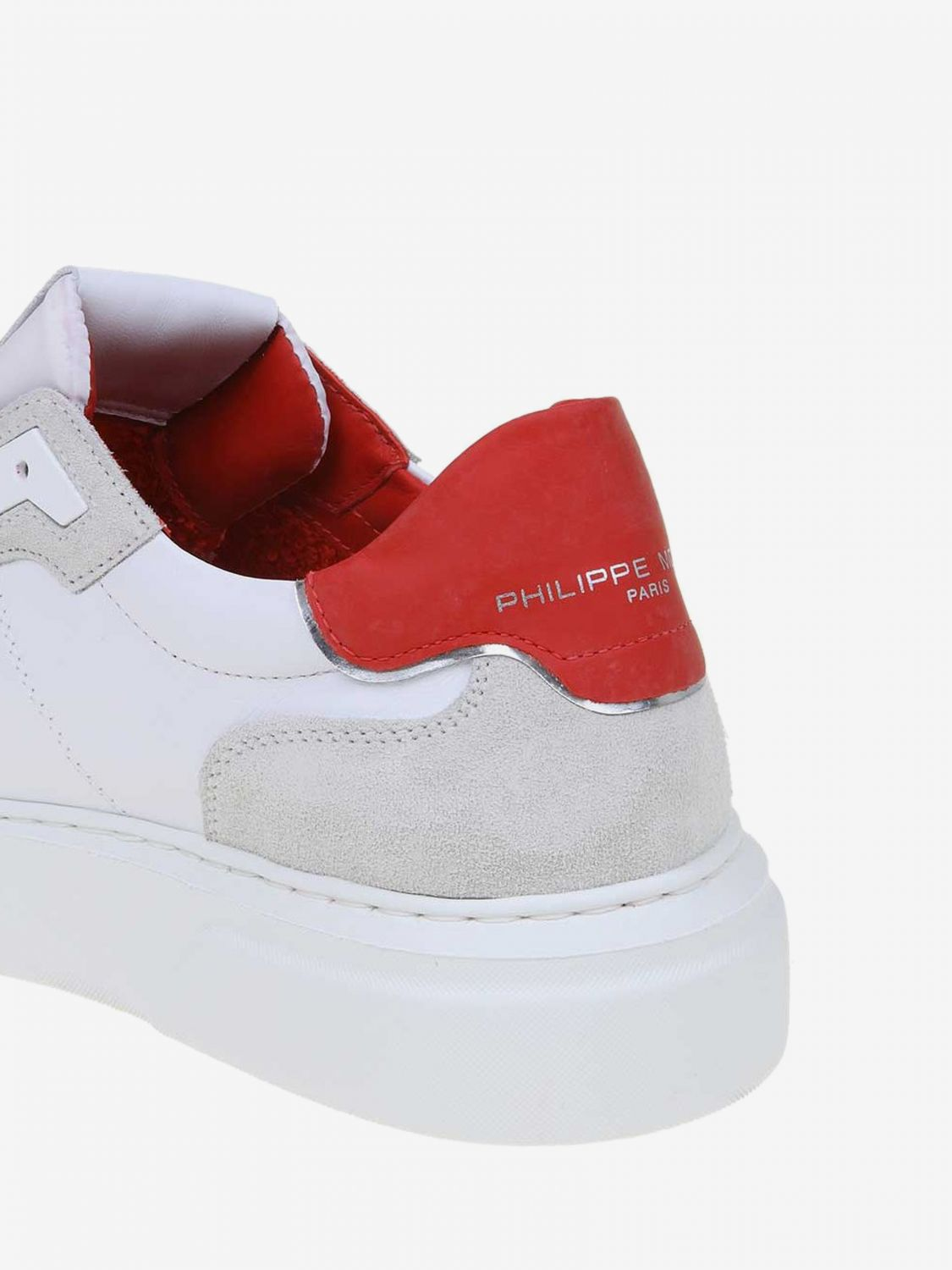Trainers men Philippe Model red 4