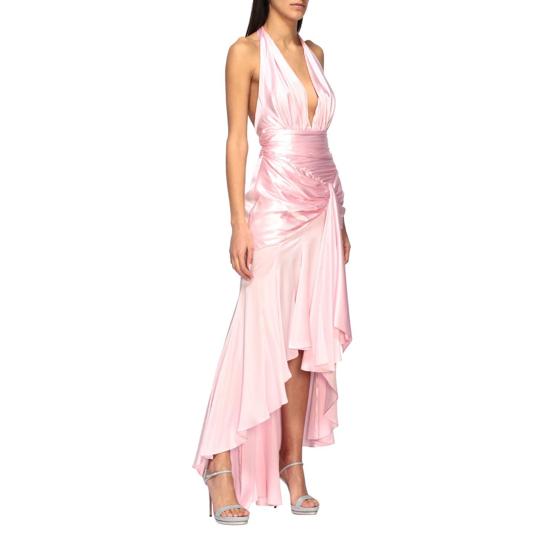 Vestido Alexandre Vauthier: Vestido mujer Alexandre Vauthier rosa 1
