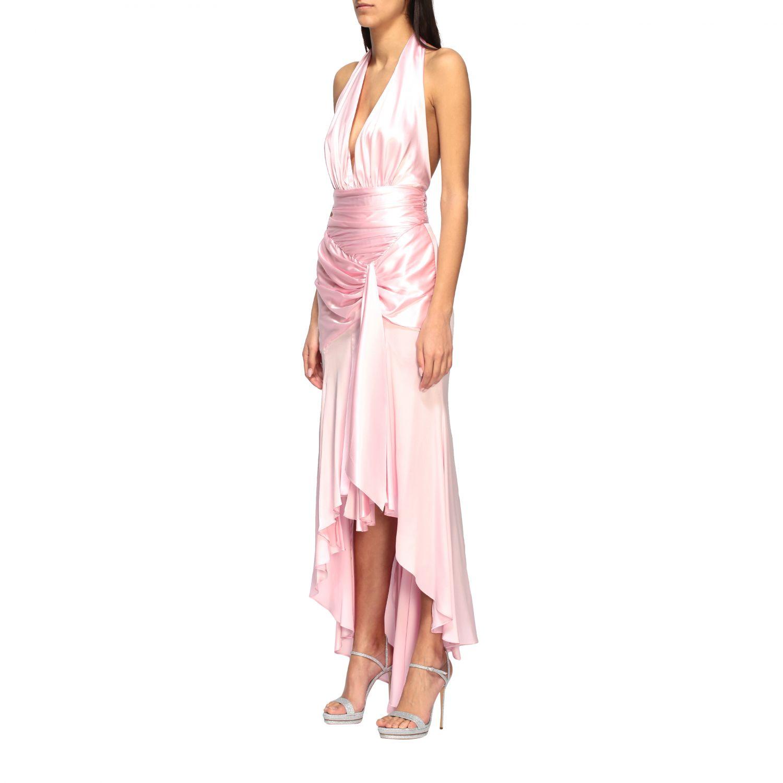 Vestido Alexandre Vauthier: Vestido mujer Alexandre Vauthier rosa 2
