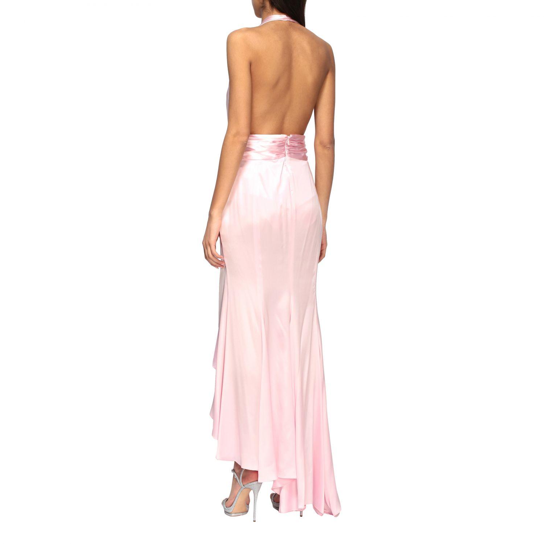 Vestido Alexandre Vauthier: Vestido mujer Alexandre Vauthier rosa 3