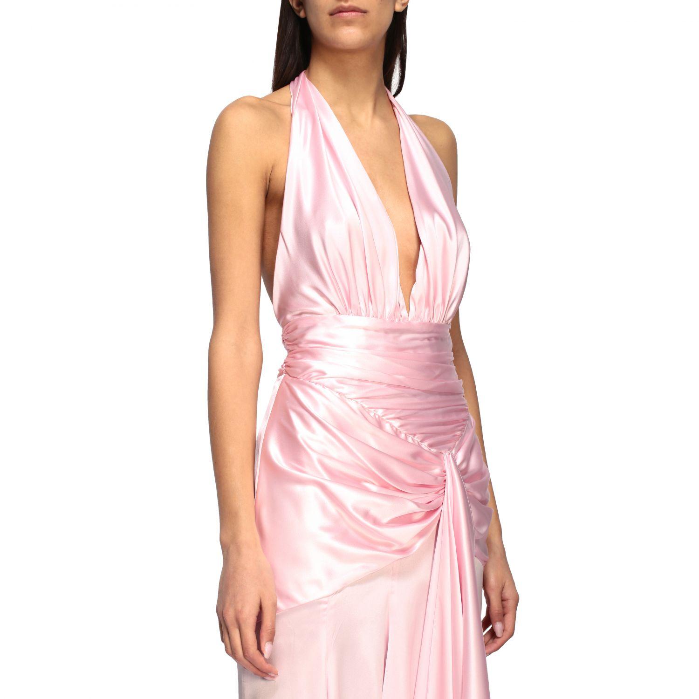 Vestido Alexandre Vauthier: Vestido mujer Alexandre Vauthier rosa 4