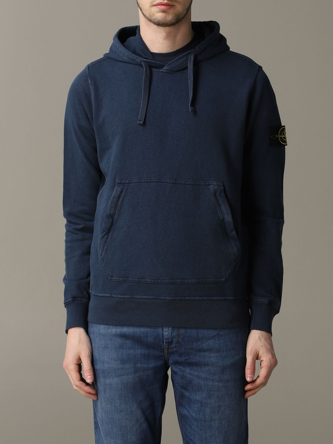 Sweatshirt men Stone Island avion 1