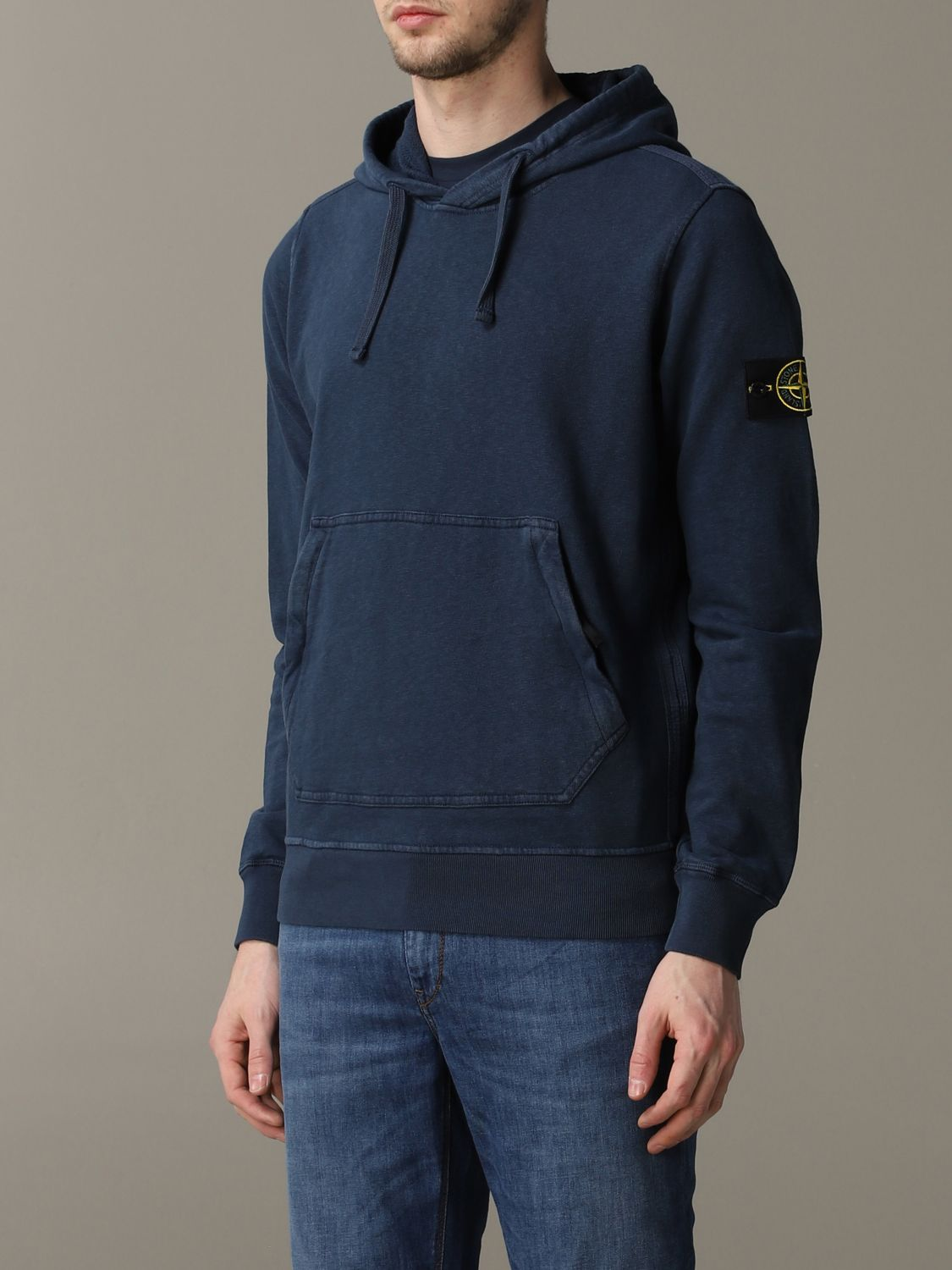 Sweatshirt men Stone Island avion 4