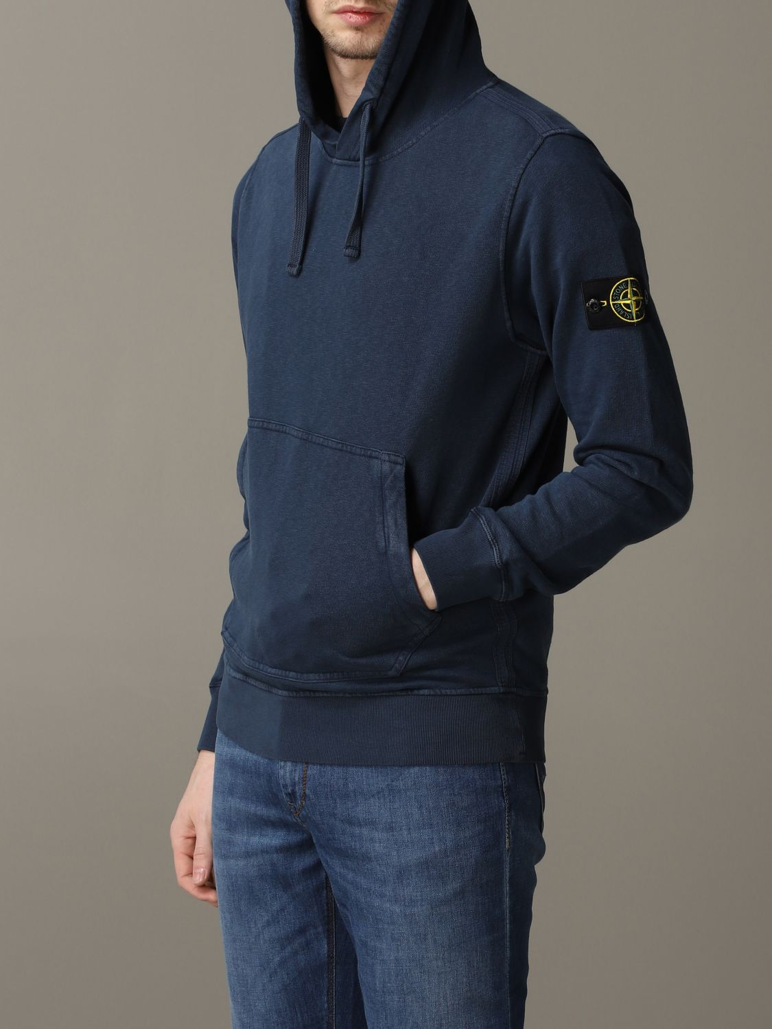 Sweatshirt men Stone Island avion 5