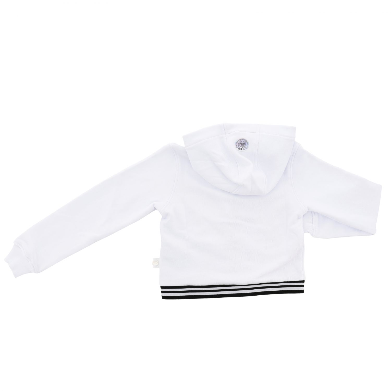 Sweat Gcds avec capuche et zip blanc 2