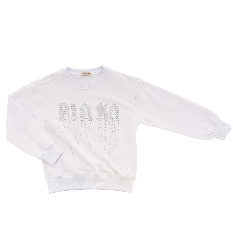 Pinko 流苏装饰logo毛衣 白色 1