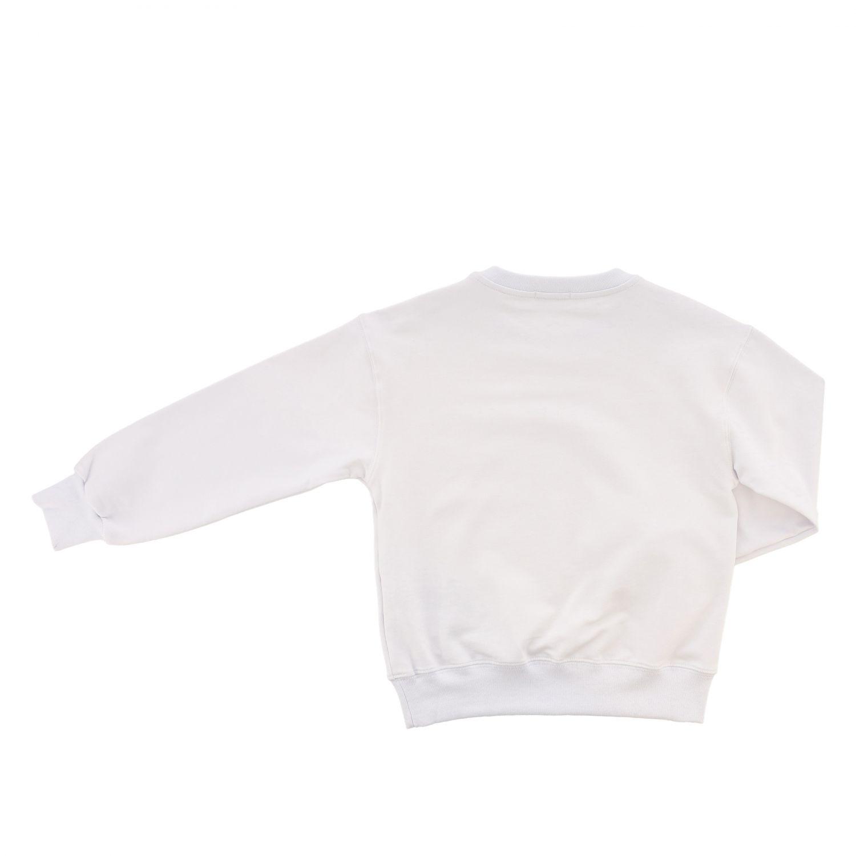 Pinko 流苏装饰logo毛衣 白色 2