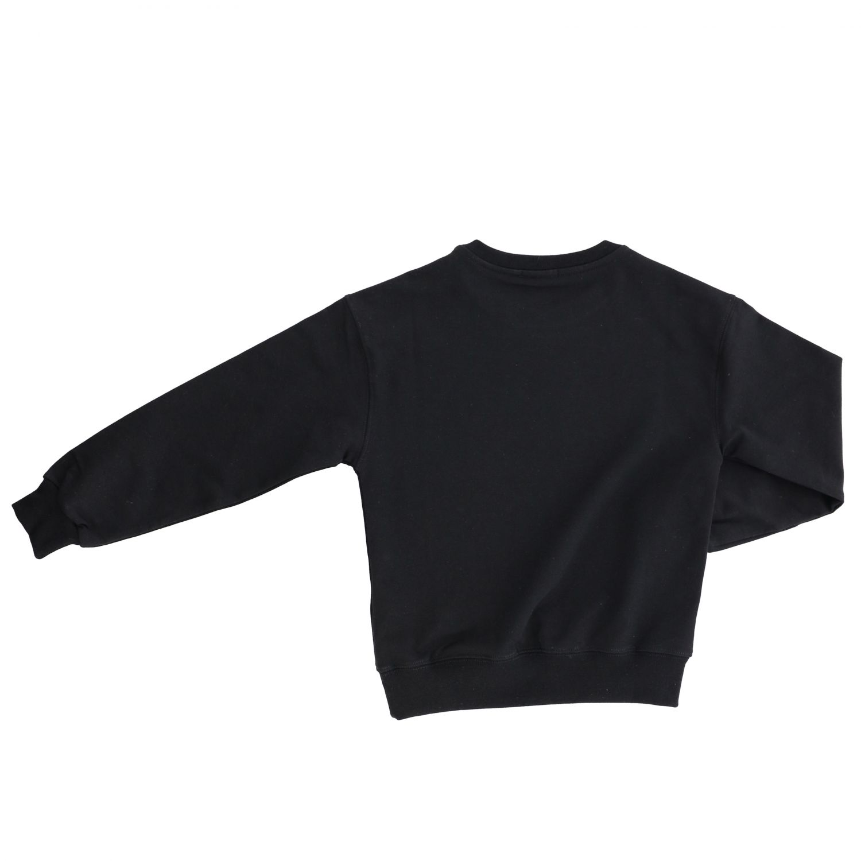 Maglia Pinko con logo e frange nero 2