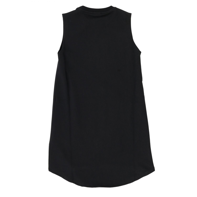 Pinko dress with rhinestone logo black 2