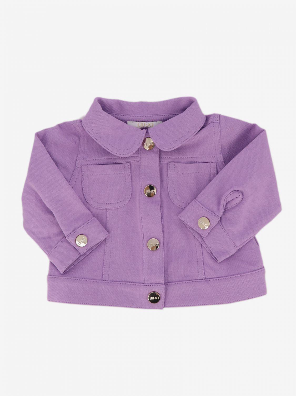 Coat Liu Jo: Coat kids Liu Jo lilac 1