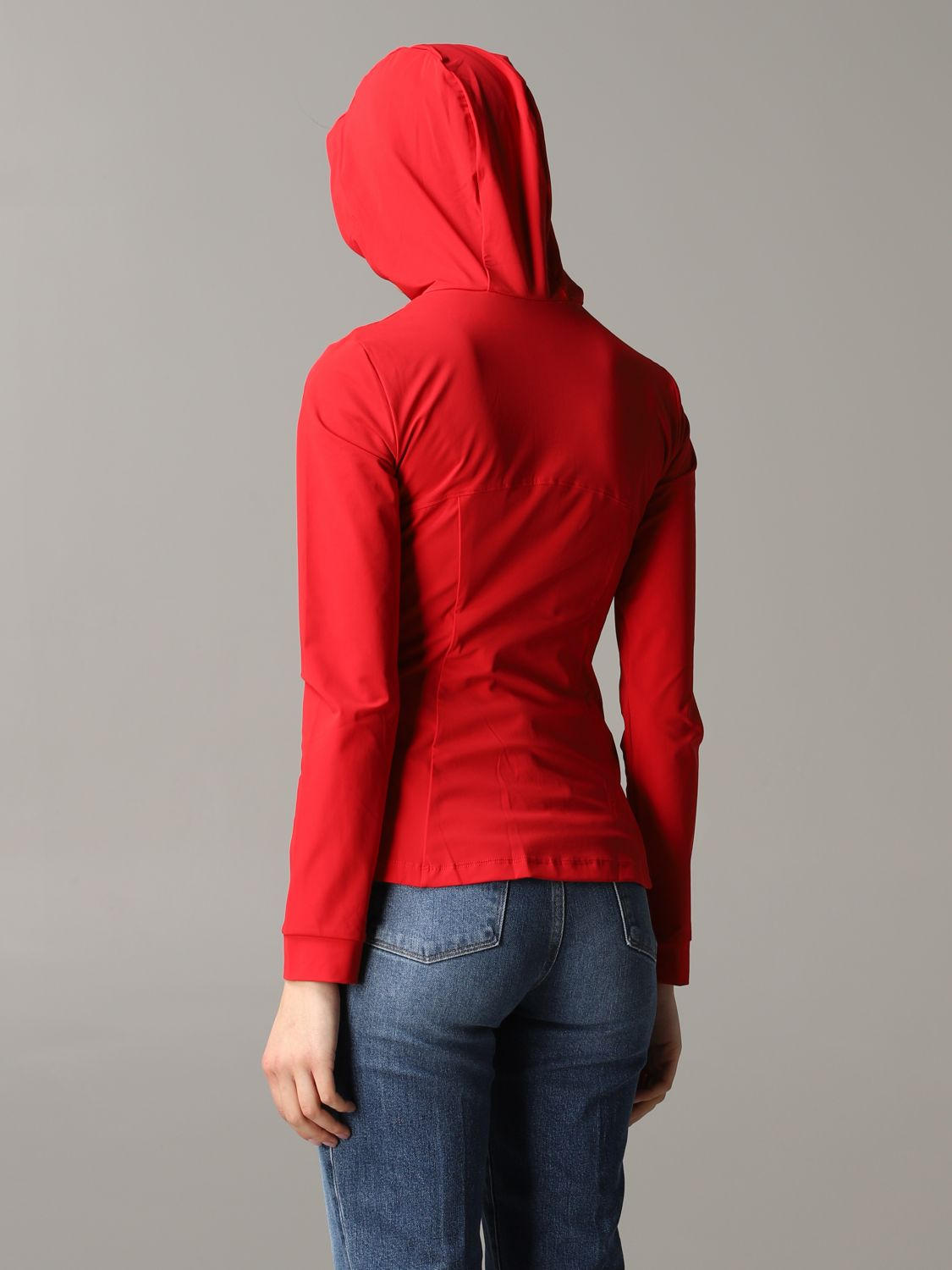 Save The Duck hooded sweatshirt red 3