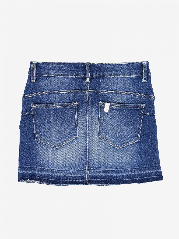 Gonna di jeans Liu Jo a 5 tasche denim 2