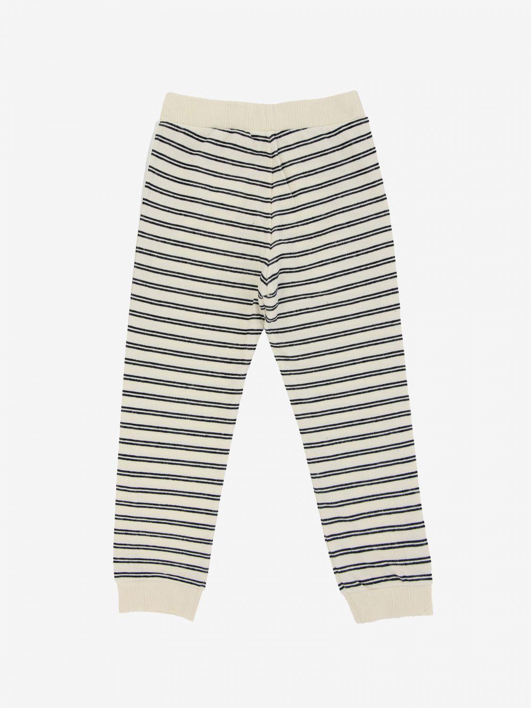 Pantalone Dondup: Pantalone jogging Dondup a righe bianco 2
