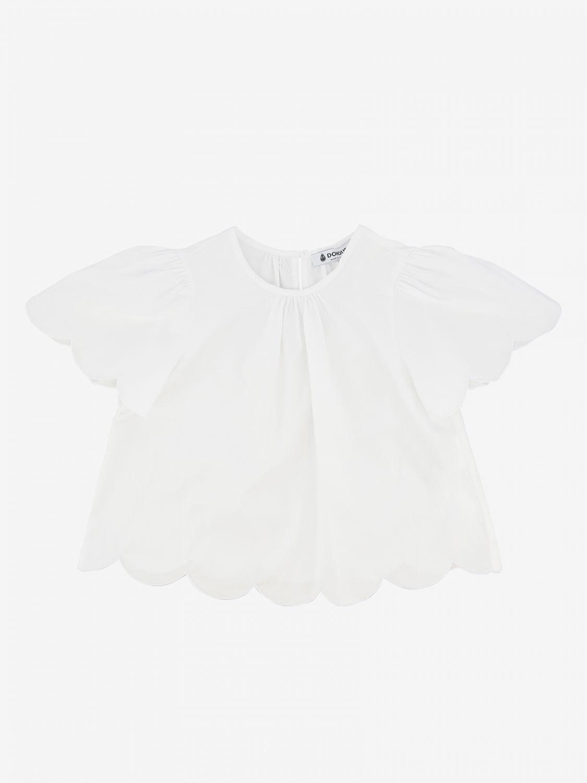 Блузка Dondup: Блузка Детское Dondup белый 1