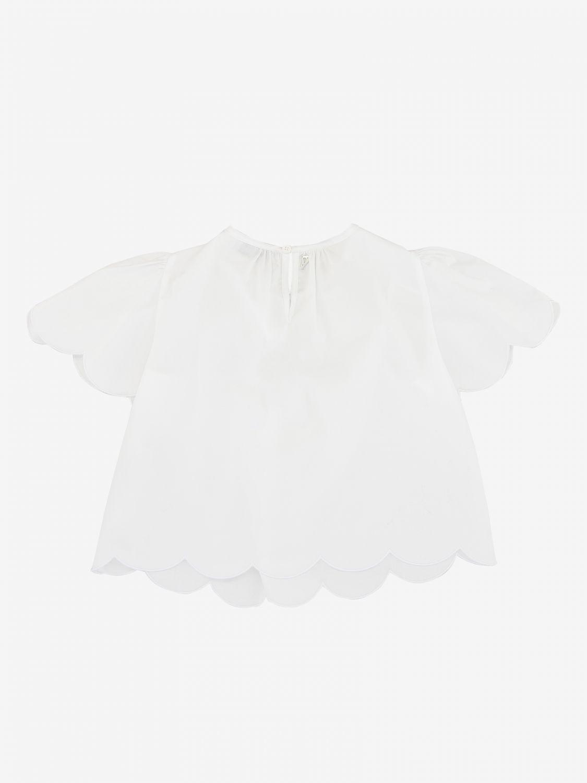 Блузка Dondup: Блузка Детское Dondup белый 2