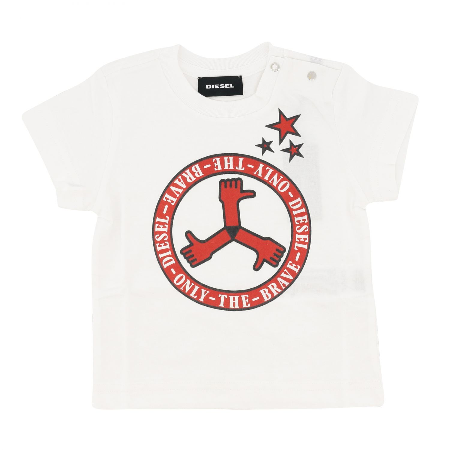 Jumper kids Diesel white 1