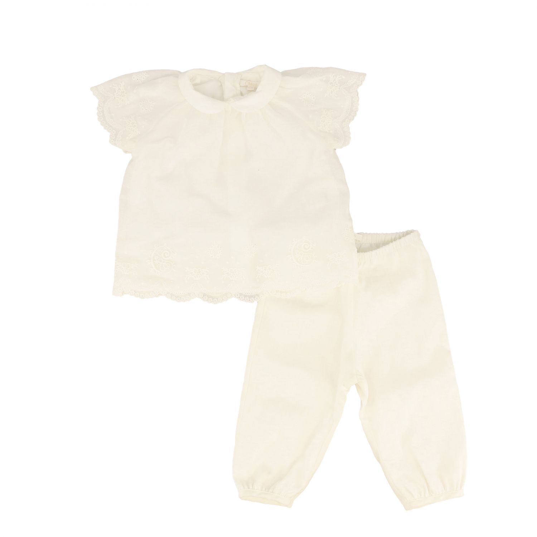 Completo Chloé: Completo top + pantalone Chloé bianco 1
