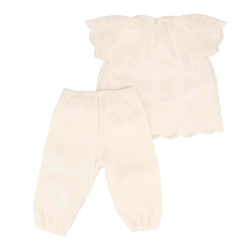 Completo Chloé: Completo top + pantalone Chloé bianco 2