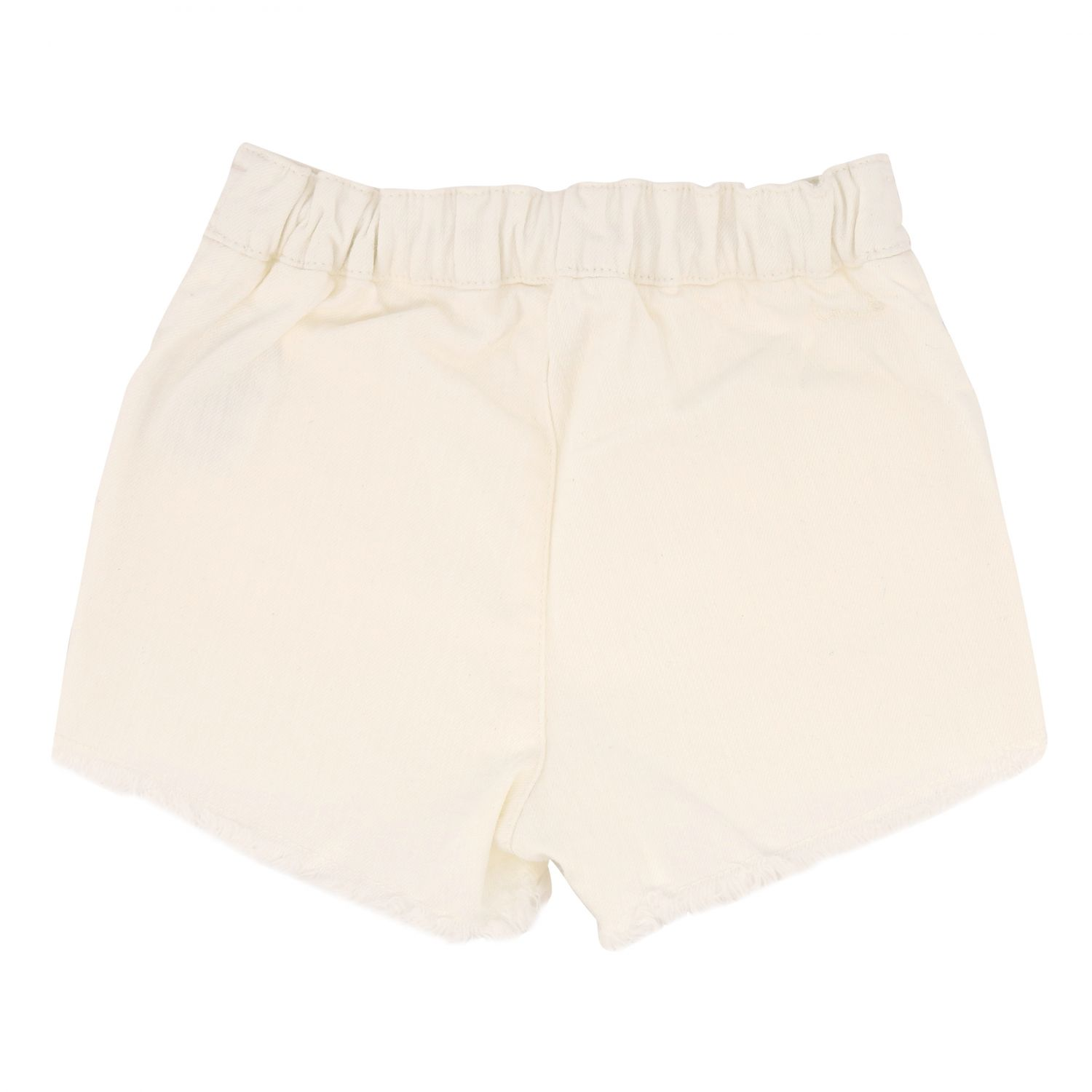 Short Chloé: Chloé shorts with drawstring white 2