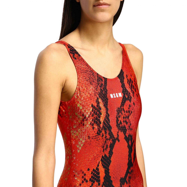 泳装 女士 Msgm 红色 4