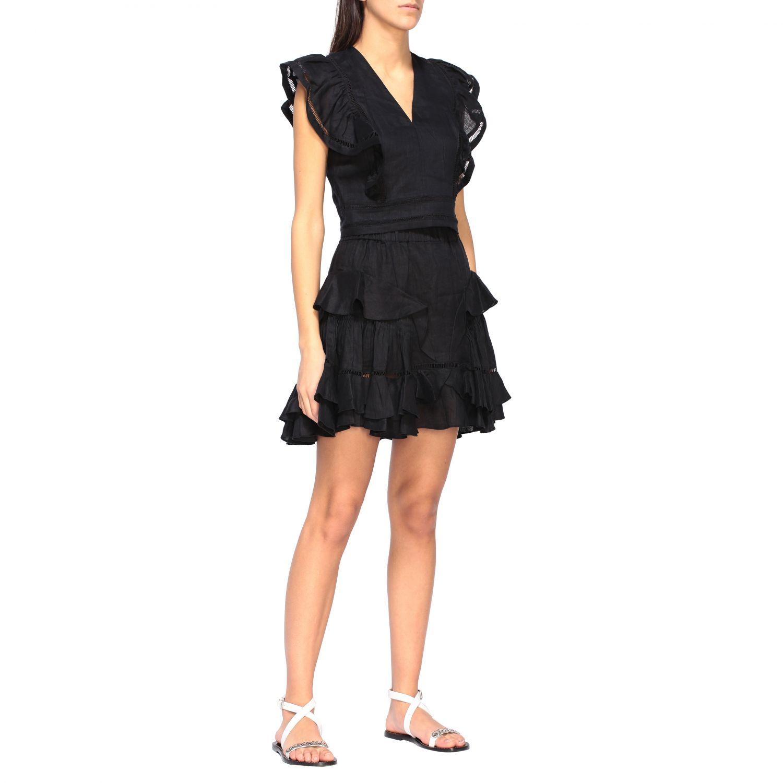 Блузка Женское Isabel Marant Etoile черный 2