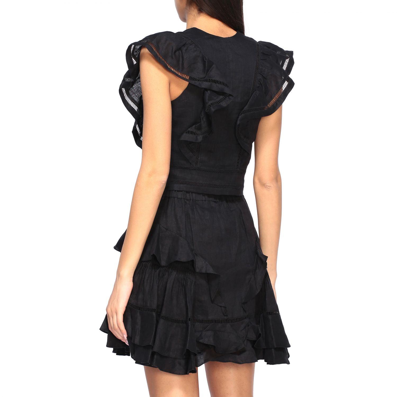 Блузка Женское Isabel Marant Etoile черный 3
