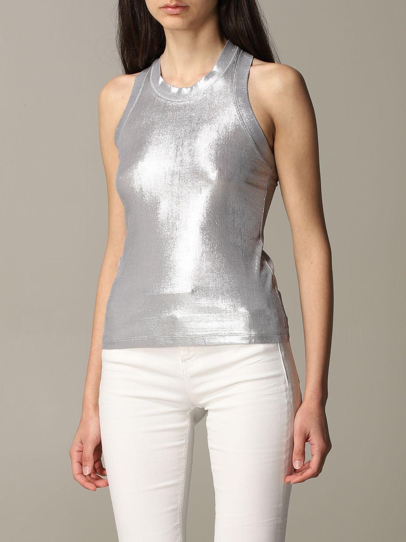 Блузка Женское Pinko серебряный 4
