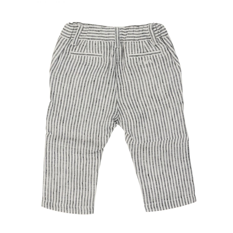 Pantalon rayé Emporio Armani bleu 2