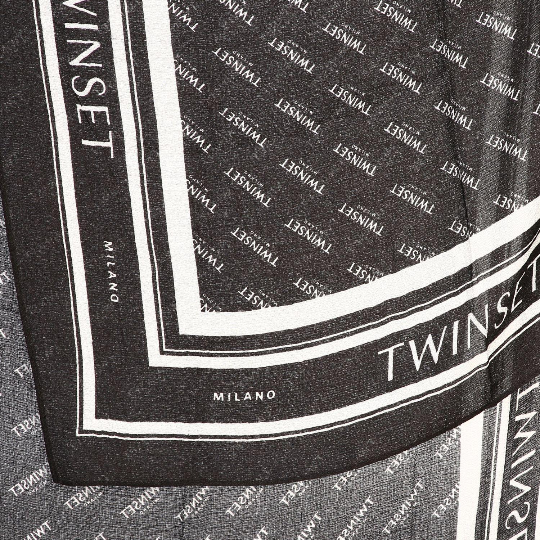 écharpe femme Twin Set noir 3