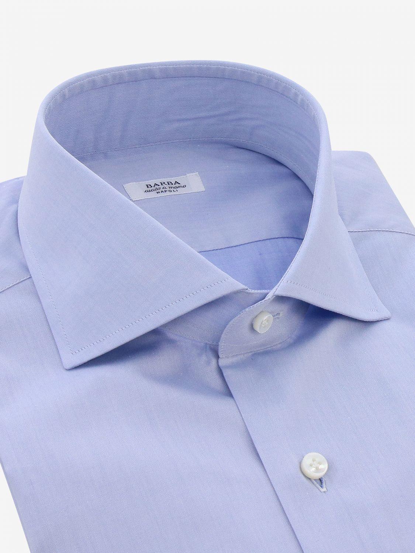 Shirt Barba Napoli: Shirt men Barba Napoli gnawed blue 2