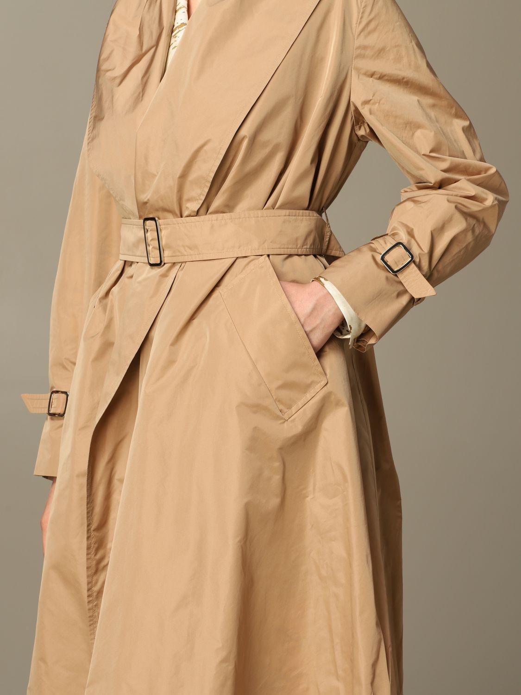 Coat women Max Mara camel 3
