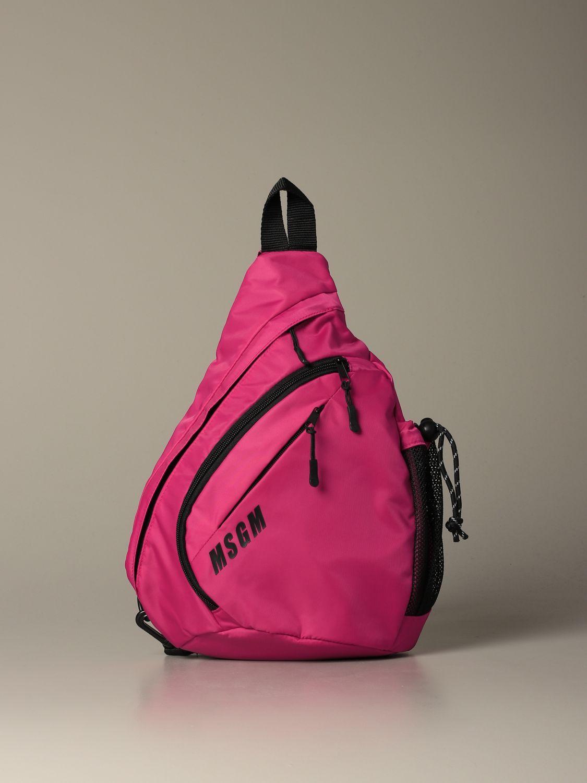 Backpack Msgm: Backpack women Msgm fuchsia 1