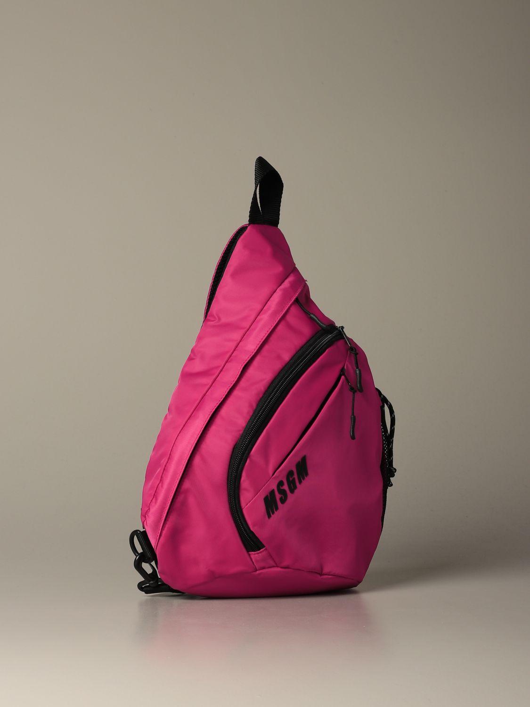 Backpack Msgm: Backpack women Msgm fuchsia 3