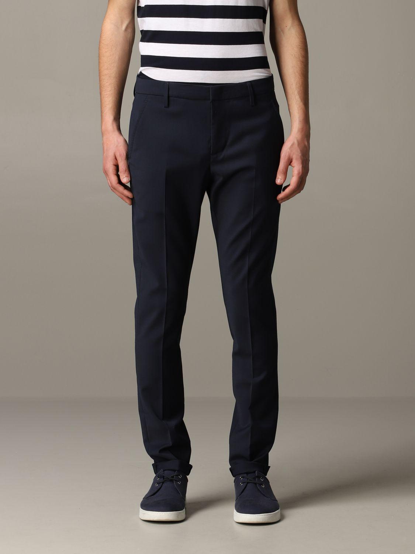 Pants Dondup: Dondup classic trousers blue 1