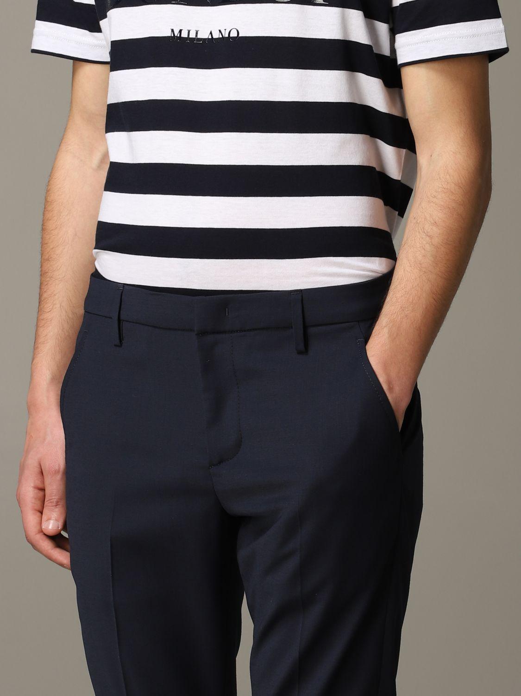 Pants Dondup: Dondup classic trousers blue 5