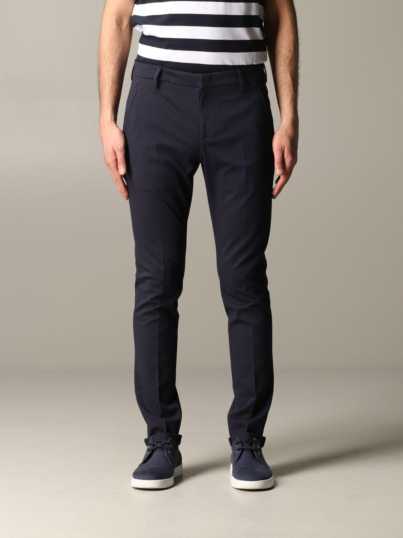 Pants Dondup: Dondup trousers with regular waist blue 1