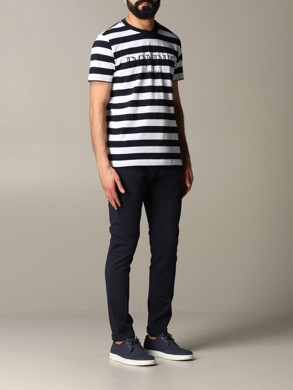 Pants Dondup: Dondup trousers with regular waist blue 2
