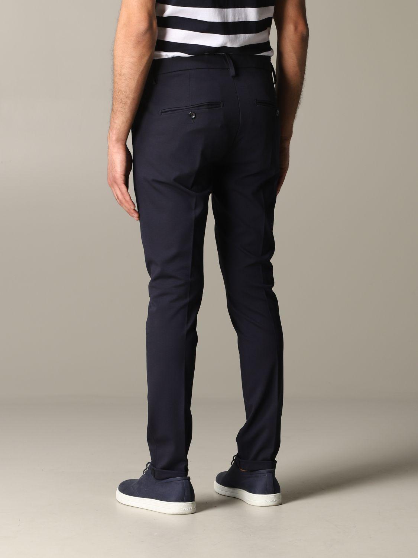 Pants Dondup: Dondup trousers with regular waist blue 3