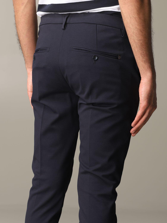 Pants Dondup: Dondup trousers with regular waist blue 5