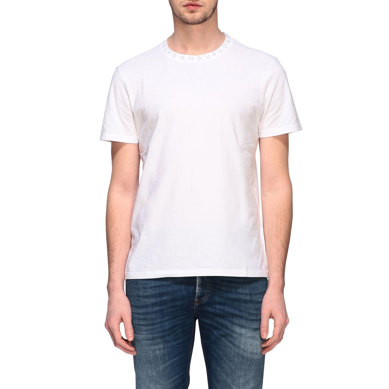 T-Shirt Dondup: Dondup T-Shirt mit Logo weiß 1