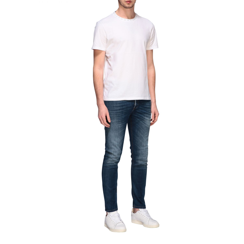 T-Shirt Dondup: Dondup T-Shirt mit Logo weiß 2
