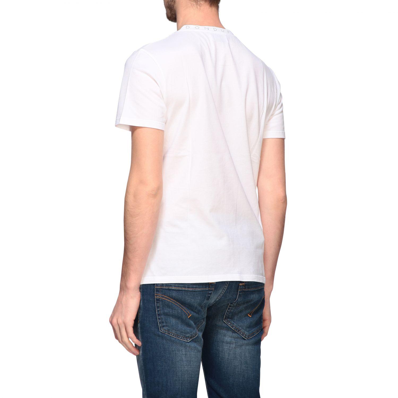 T-Shirt Dondup: Dondup T-Shirt mit Logo weiß 3