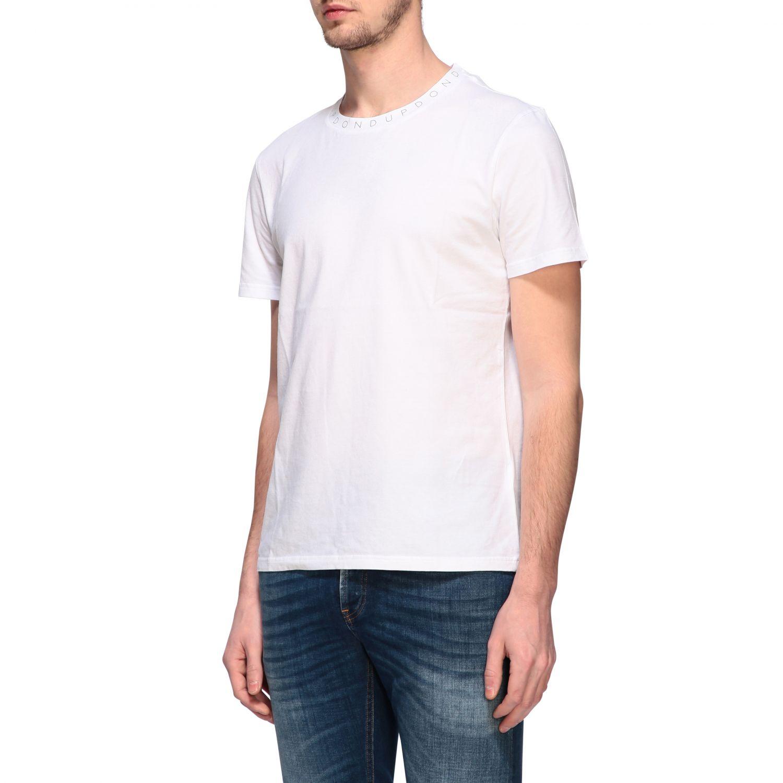 T-Shirt Dondup: Dondup T-Shirt mit Logo weiß 4