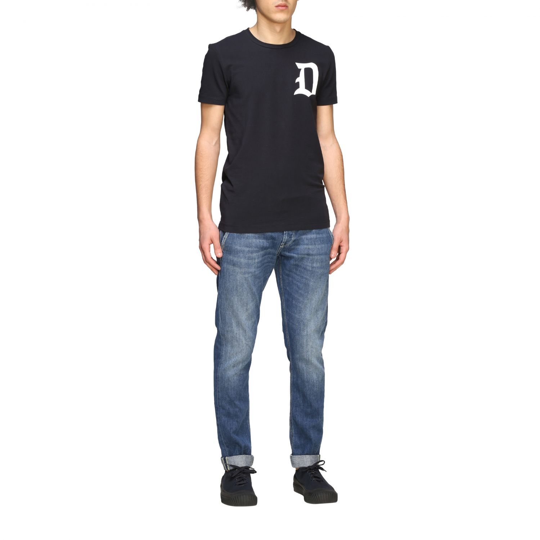 Jeans Dondup: Dondup Jeans aus Used Denim denim 2