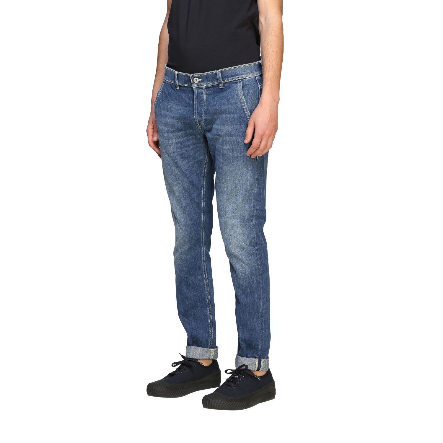 Jeans Dondup in denim used denim 4